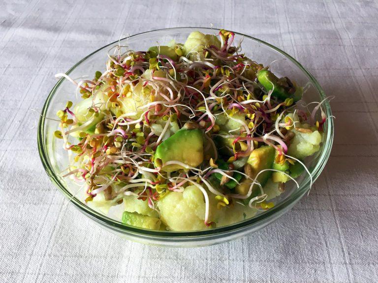 Kalafior w sałatce