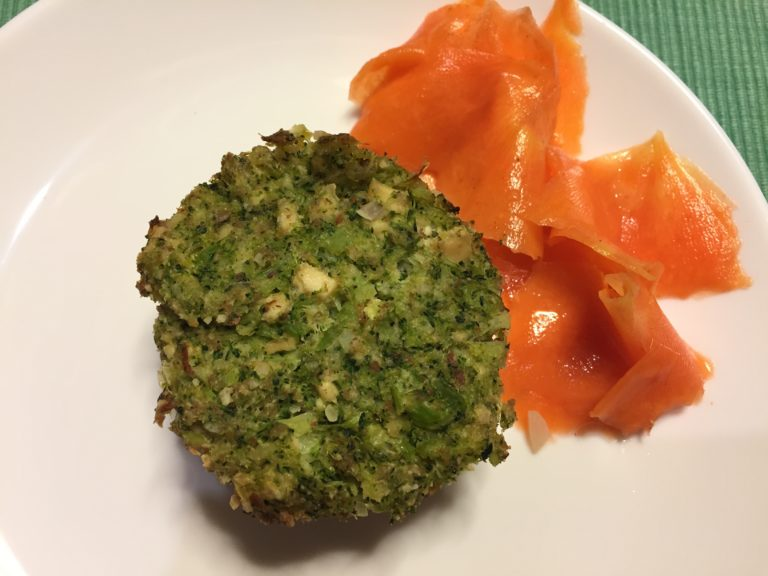 Babeczki z brokuła